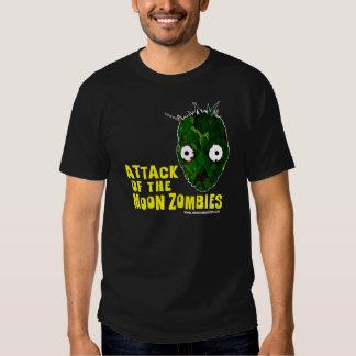 ¡Ataque de los zombis de la luna! Playera