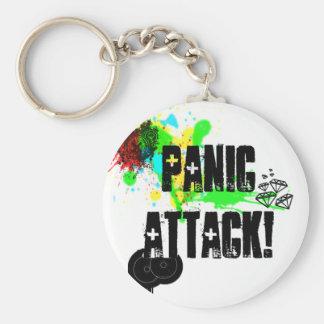 ataque de pánico llaveros personalizados