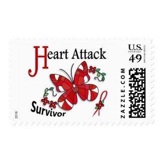 Ataque del corazón al superviviente 6 franqueo