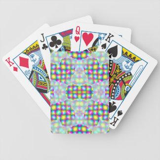 Ataque del corazón escarchado baraja cartas de poker