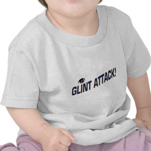 ataque del destello camiseta