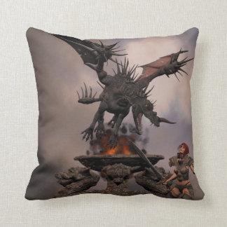 Ataque del dragón cojín