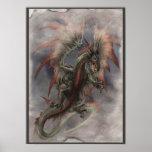 Ataque del dragón poster