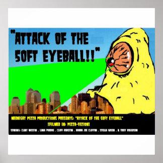 ¡Ataque del globo del ojo de 50 pies!! Poster