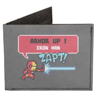 ¡ataque del hombre del hierro 8Bit - armadura para Billeteras Tyvek®