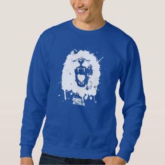 Ataque del león suéter