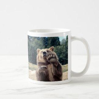¡Ataque del oso! Taza