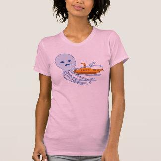 ¡Ataque del pulpo!! Camisetas