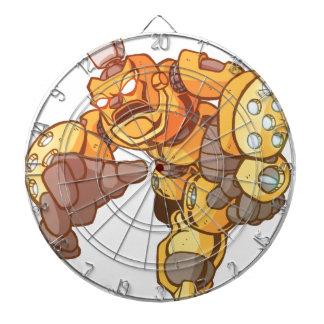 Ataque del robot tablero dardos