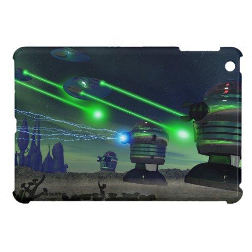 Ataque del robot iPad mini protector