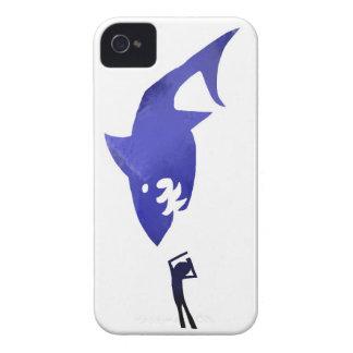 Ataque del tiburón Case-Mate iPhone 4 cárcasa