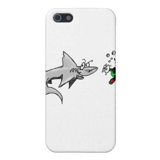 Ataque del tiburón iPhone 5 cárcasas