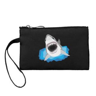 Ataque del tiburón - gran tiburón blanco