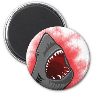 Ataque del tiburón imán redondo 5 cm