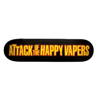 Ataque del Vapers feliz Patín Personalizado