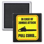 Ataque del zombi imán cuadrado