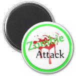 Ataque del zombi imán para frigorifico