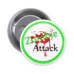 Ataque del zombi pin