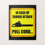 Ataque del zombi puzzles con fotos