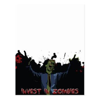 ¡Ataque del zombi! Postales