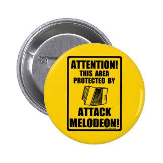 Ataque Melodeon Pins