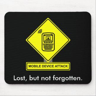 Ataque Mousepad del dispositivo móvil