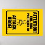 Ataque Oboe Poster