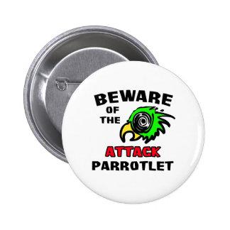 Ataque Parrotlet Pin Redondo 5 Cm