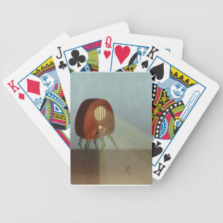 Ataque retro baraja cartas de poker