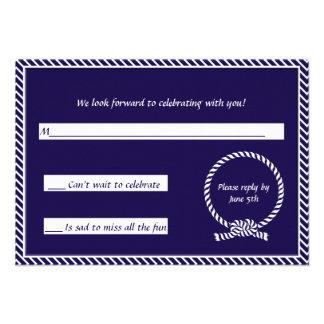 Atar la tarjeta de la respuesta del nudo anuncios personalizados
