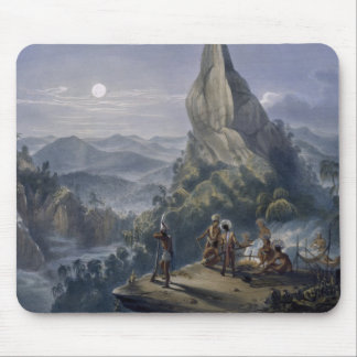 Ataraipu or the Devil's Rock, from 'Views in the I Mouse Pad