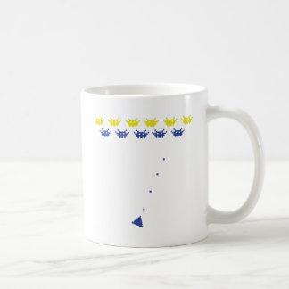 Atari monsters coffee mug