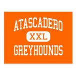 Atascadero - Greyhounds - High - Atascadero Post Card