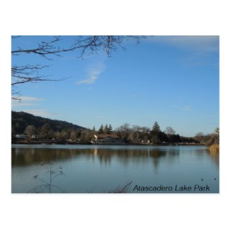 Atascadero Lake Park Pavilion Post Cards