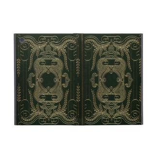 Atascamiento de libro de cuero antiguo iPad mini coberturas