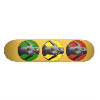 Atasco con las tetas al aire skateboard