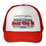 atasco en él gorras de camionero