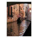 Atasco en Venecia Tarjetas