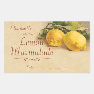 Atasco o enlatado del limón rectangular altavoz