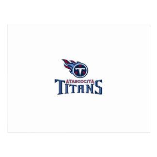 Atascocita Titans Youth Football Postcard