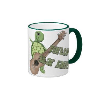 Atascos de la estrella de la tortuga tazas de café