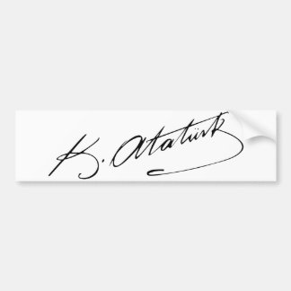 Ataturk Bumper Sticker