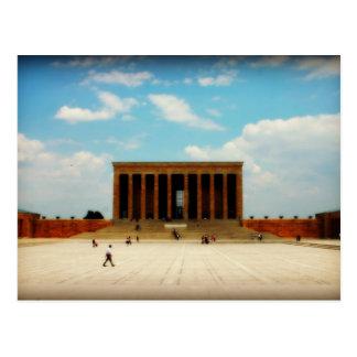 Ataturk Memorial in Ankara Postcard
