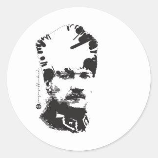 Atatürk Classic Round Sticker