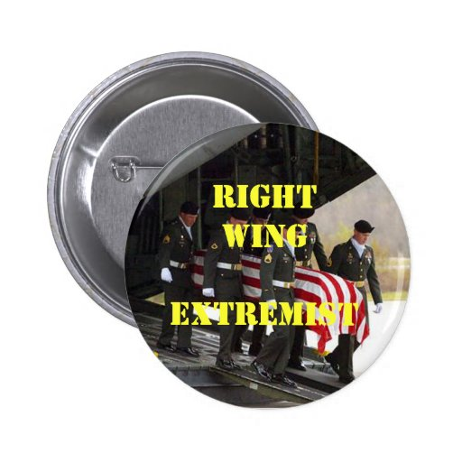 ataúd cubierto, WingExtremist derecho Pins