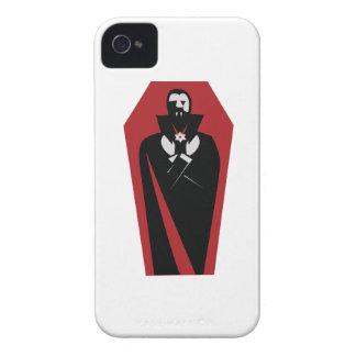 Ataúd de Draculas iPhone 4 Case-Mate Protectores