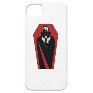 Ataúd de Draculas iPhone 5 Case-Mate Carcasas