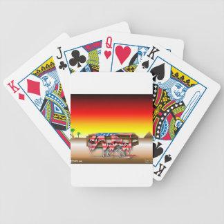 Ataúd de la política exterior baraja de cartas