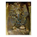 Ataúd íntimo de Tutankhamun Tarjeta Postal