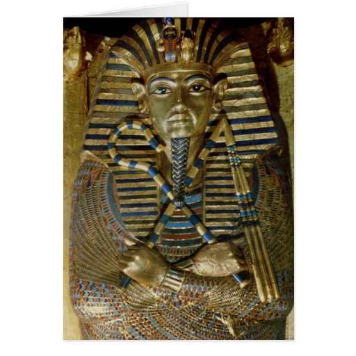Ataúd íntimo de Tutankhamun Tarjetas